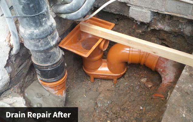 Drain Repair After