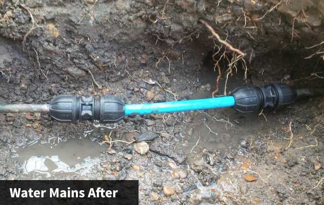 Water Mains After